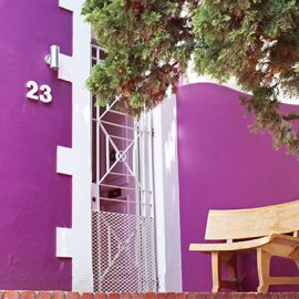 Purple House Accommodations Entrance Jarvis Street